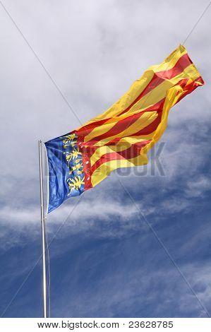Communidad Valenciana Flag