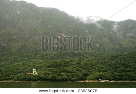 House in the Jungle, Sumidero Canyon, Chiapas Mexico