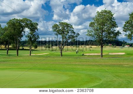Golf Course In Sweden