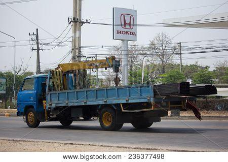Private Truck With Crane.