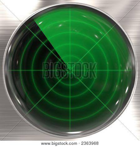 Retro Radar Screen