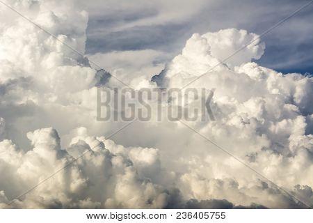 Clouds Storm, Cumulonimbus Clouds, Rapid Vertical Growth Mature Thunderstorm