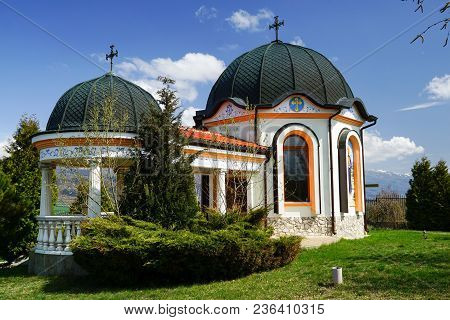Chapel St. Petka ,it Is Located On A Hill Above The Village.bunovo Village, Bulgaria.