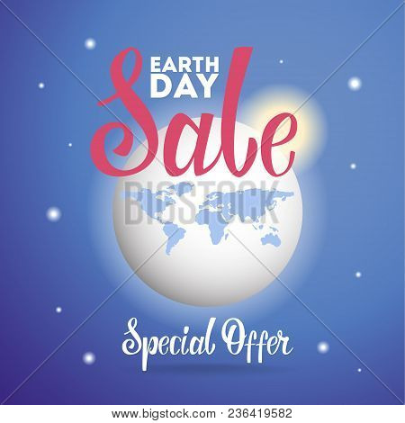 Earth Day Sale. Fair Trade On Holiday.