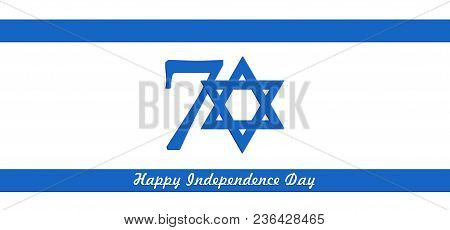 Israel Independence Day, 70Th, Star Of David