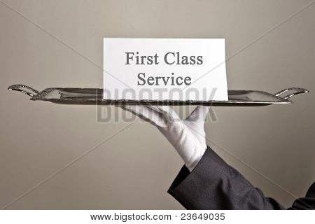 First Class Service
