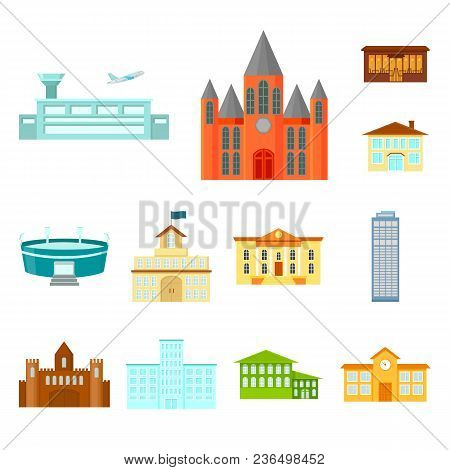 Building Repair Cartoon Icons In Set Collection For Design.building Material And Tools Vector Symbol