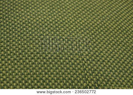Green Yellow Fabric Texture With A Pattern