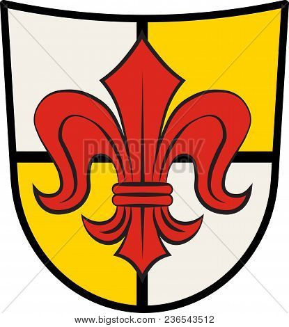 Coat Of Arms Of Grefrath Is A Municipality In The District Of Viersen, In The Western Part Of North