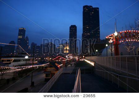 Chicago At Night 2