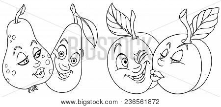 Kissing Fish Coloring Pages | Fish coloring page, Pout pout fish ... | 219x450