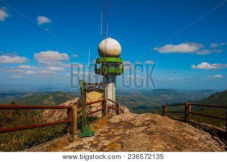 National Park La Gran Piedra, Big Rock, Sierra Maestra, Cuba: The Main Attraction Of These Places Wa