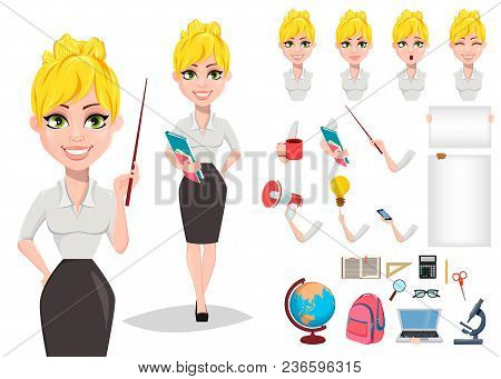 Cheerful Female Teacher