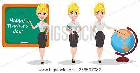 Cheerful Female Teacher