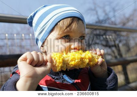 Child Has Corn