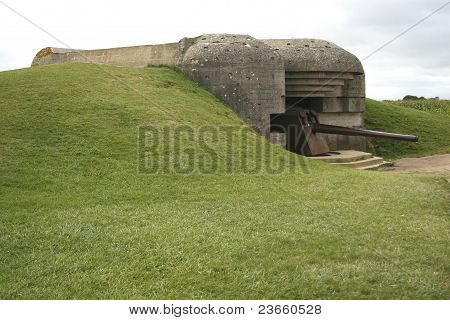 Atlantic Wall Gun Emplacement.