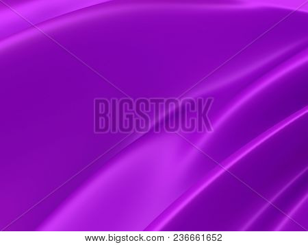 Beautiful Purple Satin Fabric For Drapery Abstract Background