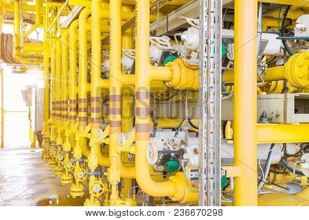 Shut Down Valve At Production And Test Separator Gas Header For Change To Production Mode Or Test Mo