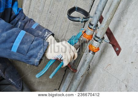plumber engineer worker