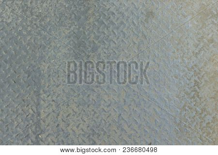 Texture Of Dirty Stainless Steel Pattern Sheet  Floor Background