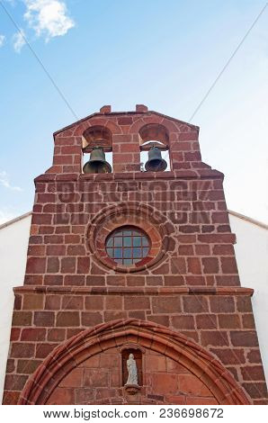 Facade Of Th Church Of Our Lady Of The Assumption In San Sebastian De La Gomera, Spain