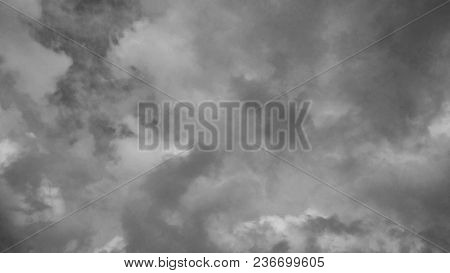 Background Texture, Sky With Storm Clouds. Summer 2016. Buenos Aires - Argentina