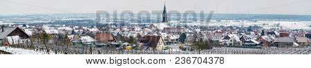Panorama Of Kintzheim, A Village In Bas-rhin - Alsace Region Of France