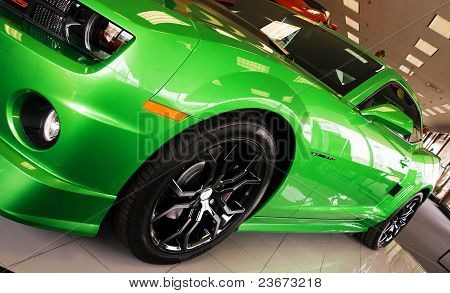 Chevrolet Camaro Green Machine