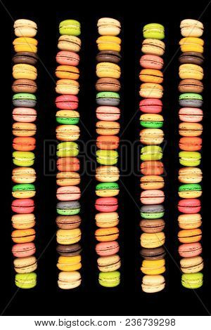 beautiful and tasty macaroons