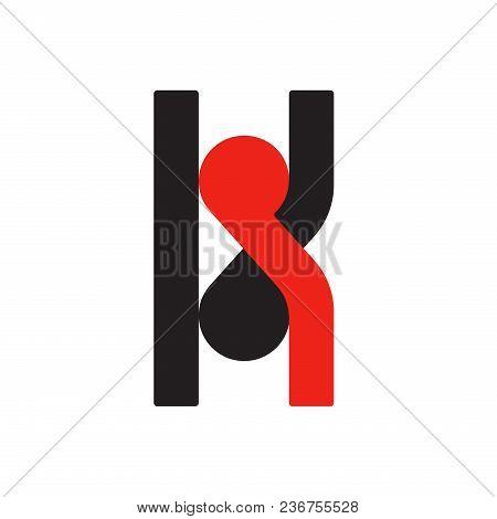 K K Logo Logotype - English Font Upper Case Letter - Latin Modern Bold Font Alphabet, Upper Case Let