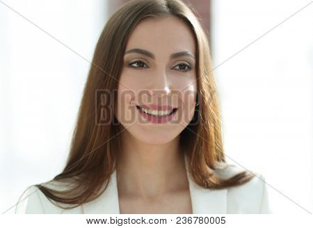 closeup.business woman, experienced lawyer
