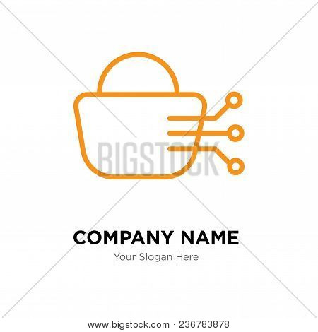 Stock Dealing Company Logo Design Template, Business Corporate Vector Icon