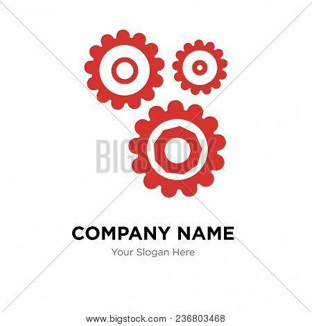 Settings Company Logo Design Template, Business Corporate Vector Icon