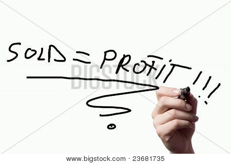 Sold= Profit