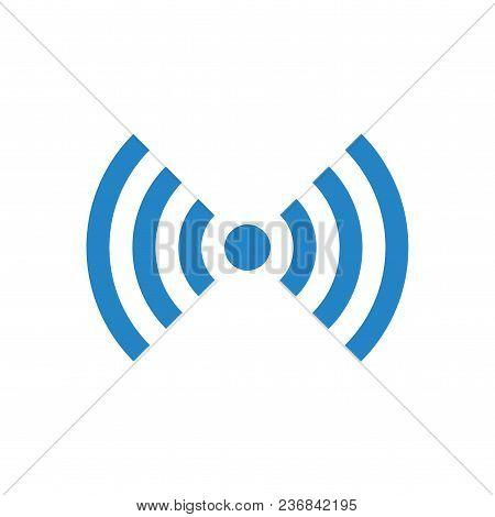 Vector Wifi Or Wireless Network Symbol, Free Wifi
