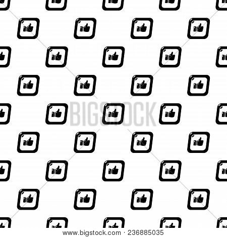 Thumbs Up Pattern Vector Seamless Repeating For Any Web Design