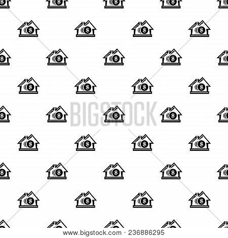 Bank Pattern Vector Seamless Repeating For Any Web Design