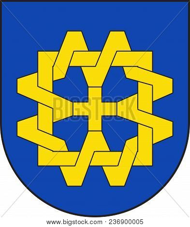 Coat Of Arms Of Willich Is A Town In The District Of Viersen, In North Rhine-westphalia, Germany. Ve