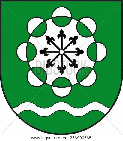 Coat Of Arms Of Hamminkeln Is A Town In The District Of Wesel, In North Rhine-westphalia, Germany. V