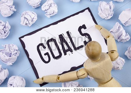 Handwriting Text Writing Goals. Concept Meaning Desired Achievements Targets What You Want To Accomp