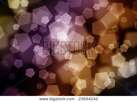 Beautiful bokeh background with lots of different colors poster