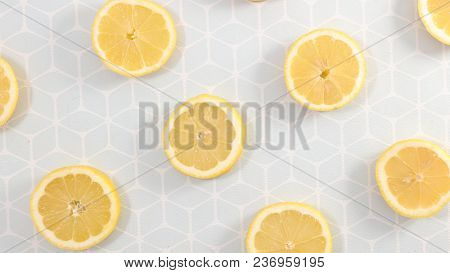 lemon half background