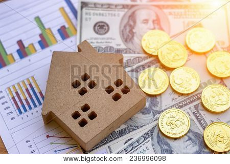 Planning To Loan To Buy Land And Build A House With The Bank Is Part Of The Financial Investment Bus
