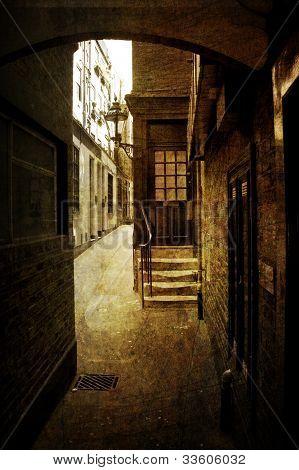 London Alleyway, England