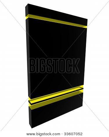 Software Box Black-yellow