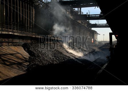 Coke Oven Plant On Large Integrated Steelworks.