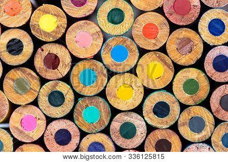 Colored Backs Of Pencils Colorful Art Teacher Education Many Colors Back To School June September Ki