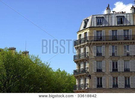 Typical Parisian Building
