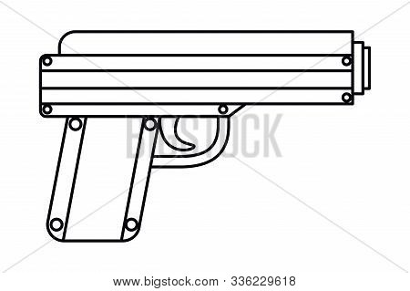Gun Design, Armed Forces Military Patriotic American Patriotism Army War And Service Theme Vector Il