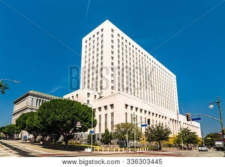 United States Court House In Los Angeles City, California